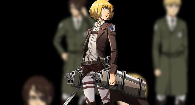 Shingeki no Kyojin: Se revelan los diseños de Armin y Hanji para la temporada final