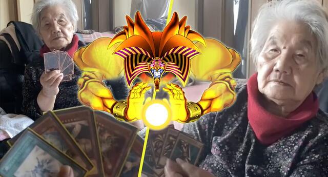 ¡Exodia manifiéstate! Abuela vence a su nieto en partida de Yu-Gi-Oh! y se vuelve viral (VIDEO)