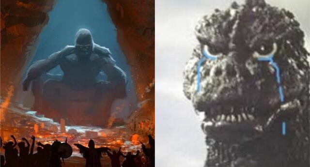 Netflix reveló que King Kong contará con una serie anime en su servicio y los fans de Godzilla no se quedaron callados./Fuente: Composición.