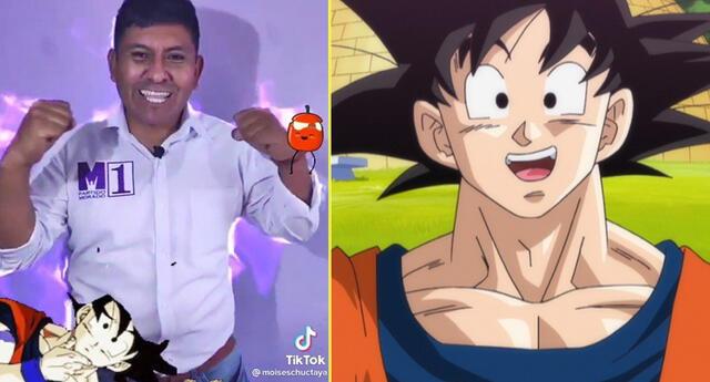 Candidato al Congreso se viraliza porque su voz es 'parecida' a la de Goku.