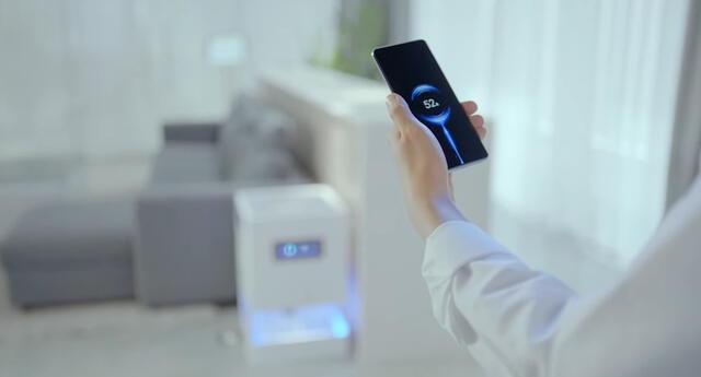 Xiaomi ha vuelto a innovar en la industria tecnológica y muestra los resultados de su investigación en la tecnología de carga remota inalámbrica./Fuente: Xiaomi.