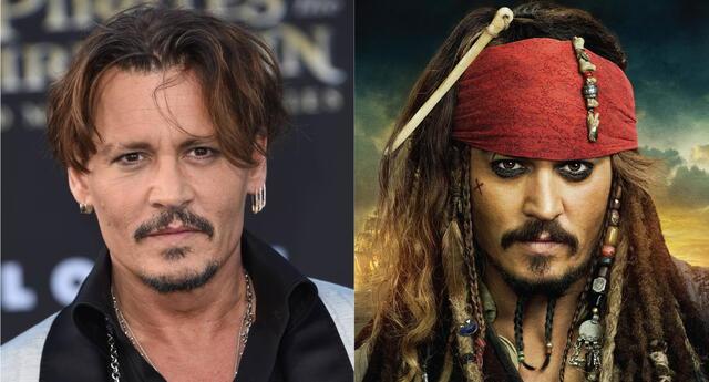 Disney estaría evaluando la reintegración de Johnny Depp en su icónico papel de Jack Sparrow para la nueva cinta de Piratas del Caribe./Fuente: Composición.