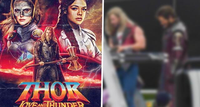 Thor: Love and Thunder: Filtran foto con la nueva apariencia de Thor y sorprende a fans