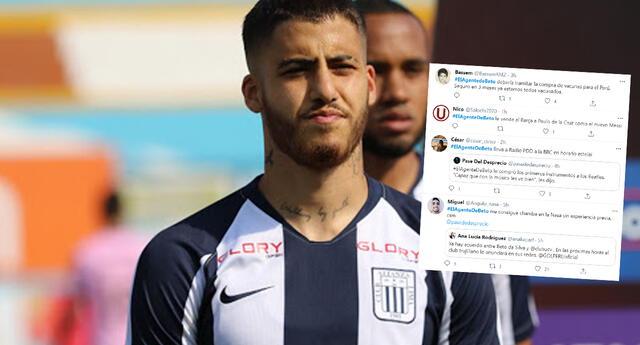 Beto Da Silva jugará en la Universidad César Vallejo y usuarios trolean a su agente en redes sociales