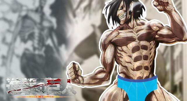 Shingeki no Kyojin: ¡Insólito! Censuran la serie poniéndole ropa interior a los titanes