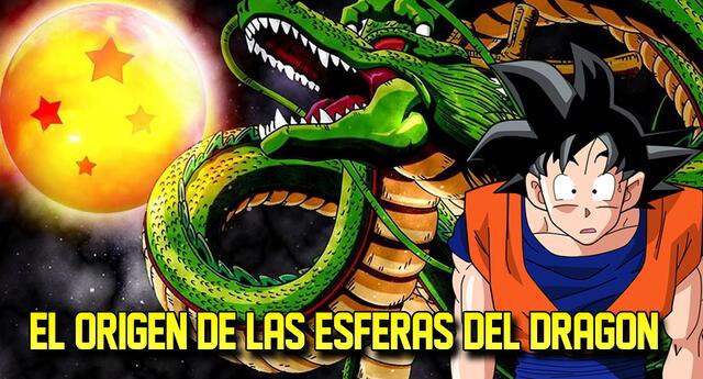 Dragon Ball y el origen de las esferas del dragón.