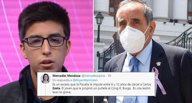 Fiscalía pide hasta 12 años de cárcel para Carlos Ezeta y así reaccionan las redes