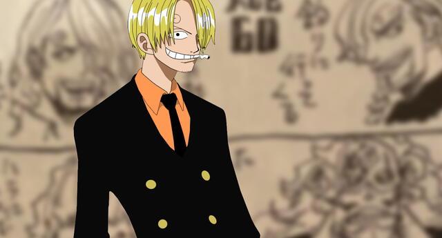 One Piece: El autor revela cómo se verá Sanji a los 40 y 60 años