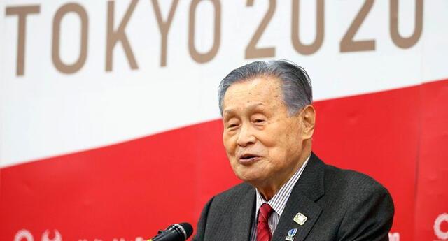 Yoshiro Mori se disculpa públicamente por sus comentarios sexistas.