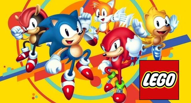 Sonic the Hedgehog podrá competir con su eterno rival Super Mario a través de los impresionantes sets de LEGO./Fuente: Sega.