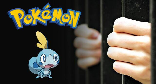 El hombre fue detenido cuando estaba a punto de concretar la venta de la variante shiny de un Pokémon conocido como Sobble a través de la entrega Sword & Shield./Fuente: Composición.
