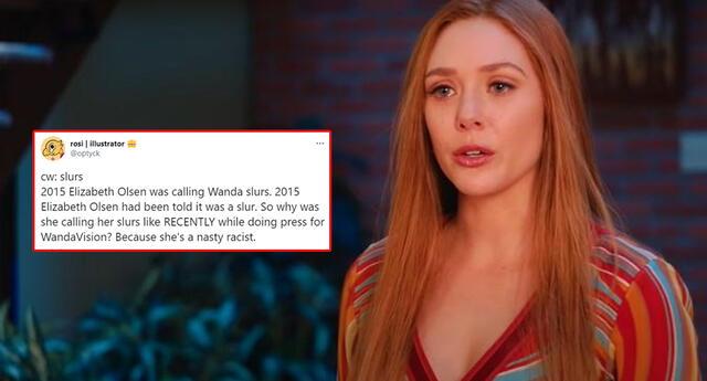 Intentan cancelar a Elizabeth Olsen por presunta discriminación.