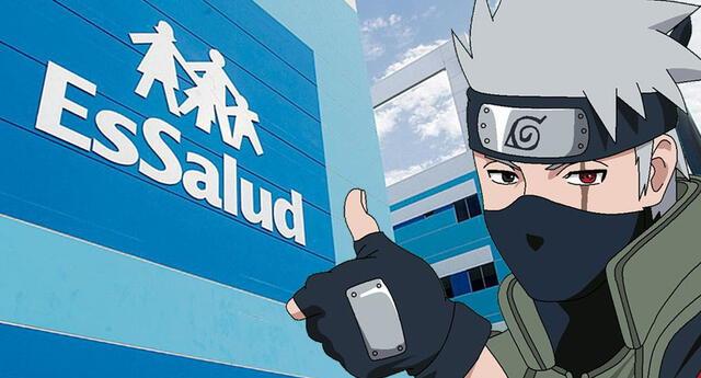 Essalud usa a Kakashi de Naruto para incentivar uso de la mascarilla por COVID-19.