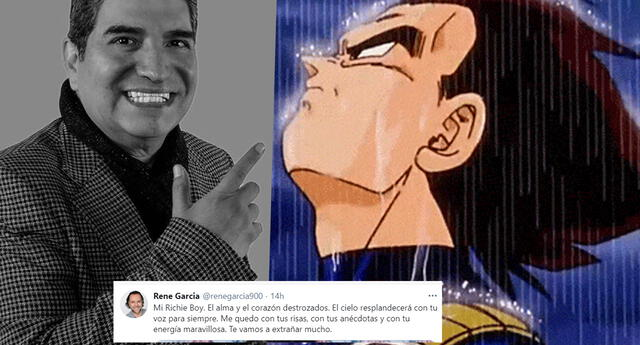 Vegeta se despide de Ricardo Silva con un mensaje que ha conmovido a los fans de Dragon Ball