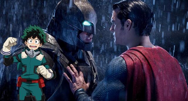 My Hero Academia hizo una referencia a Batman v Superman en último capítulo