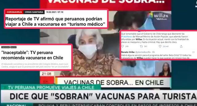 En Chile hay críticas y rechazo tras reporte peruano que incitaba al