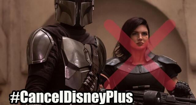 Fans buscan cancelar Disney Plus con boicot, tras despido de Gina Carano de