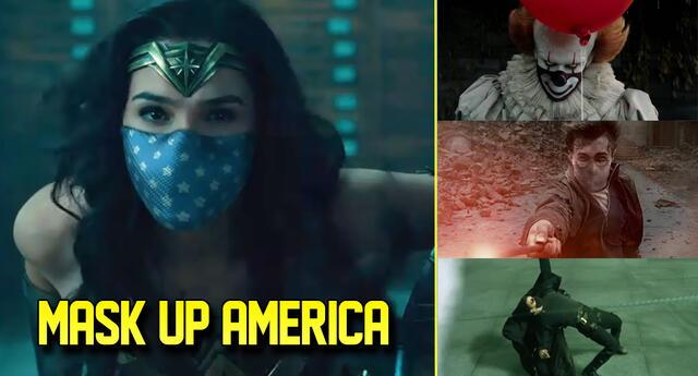 Mask Up America: la campaña de Warner Bros. contra el COVID-19.