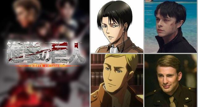 Así sería el casting de Shingeki no Kyojin si fuera un live-action de E.E.U.U.