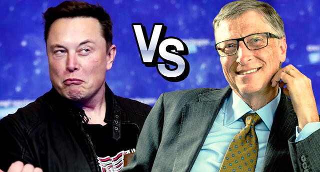 Bill Gates se distancia de Elon Musk respecto a sus inversiones monetarias.