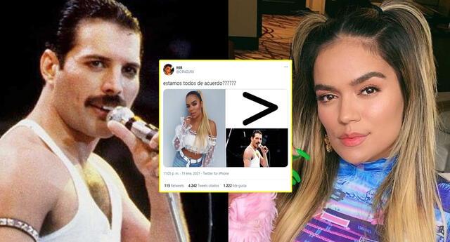 ¿Karol G es mejor artista que  Freddie Mercury?