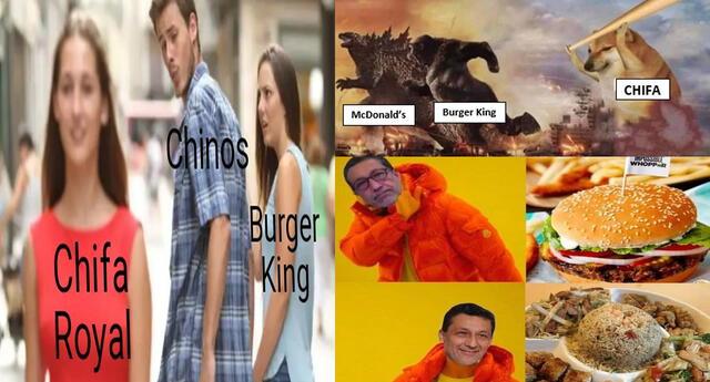 Tras vacunación de dueño de Chifa, peruanos hacen memes sobre él y Burger King