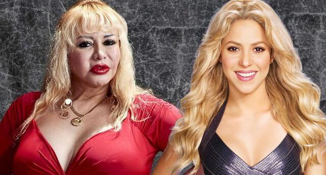 Shakira incluye a Susy Díaz en su más reciente video musical.