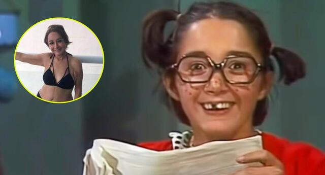 La recordada actriz del Chavo del 8 mostró toda su belleza a los 70 años.