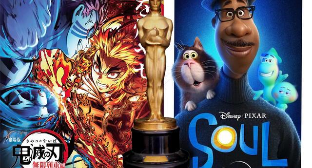 Kimetsu no Yaiba: Infinity Train desafía a Soul y busca ganar como mejor film animado en los Óscar