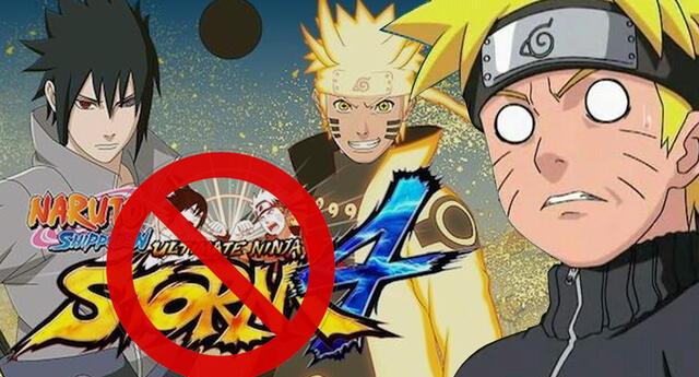 Videojuego de Naruto habría sido víctima de censura por parte de Sony