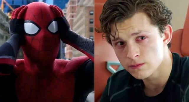 Tom Holland, actor que interpreta a Spider-Man en las nuevas producciones de Marvel Studios, señaló que No Way Home sería la última película que cubre su contrato./Fuente: Composición.