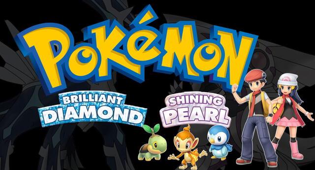 Los remakes de los videojuegos de la cuarta generación de Pokémon finalmente fueron anunciados./Fuente: Nintendo.