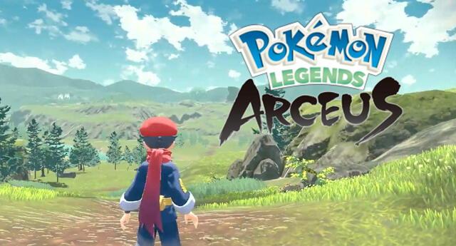 Pokémon Legends Arceus será el videojuego de la franquicia que revolucione el sistema clásico que tanto prima en entregas anteriores./Fuente: The Pokémon Company.