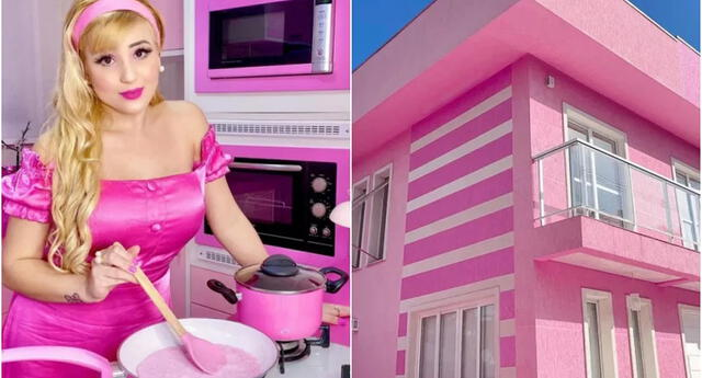 ¡La Barbie TikTok! Influencer vive como una muñeca en nuestro mundo y gana millones de seguidores