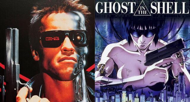 El prestigioso estudio Production I.G., reconocido por obras como Ghost in the Shell y Psycho Pass, está preparando un anime de Terminator que llegará a Netflix./Fuente: Composición.
