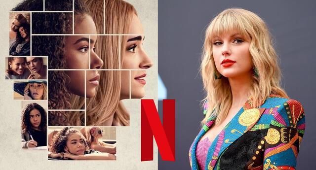 La nueva serie de Netflix presentó bromas misóginas contra la cantante Taylor Swift y las redes sociales se encargaron de arremeter contra la compañía por esto./Fuente: Composición.