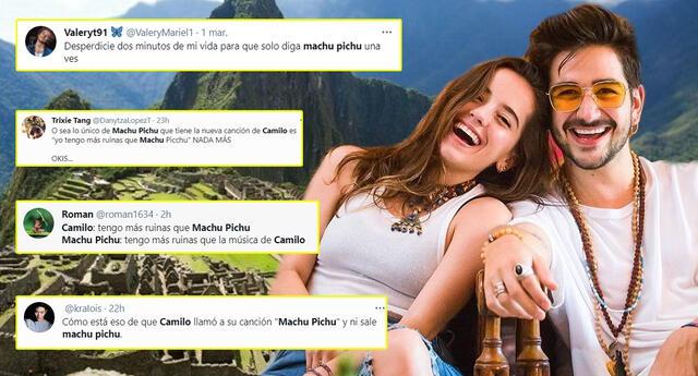 Usuarios peruanos mostraron su malestar por la nueva canción de Camilo.