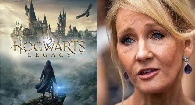 El prometedor videojuego basado en el mundo de Harry Potter quiere deslindarse por completo de las opiniones tránsfobas de J.K. Rowling./Fuente: Composición.