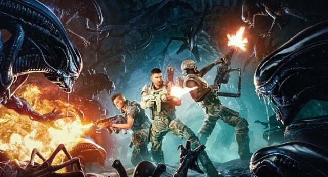 Alien: Firestorm es el nuevo videojuego de la franquicia de horror espacial y promete ser el título definitivo de esta saga fílmica./Fuente: Cold Iron Studios.