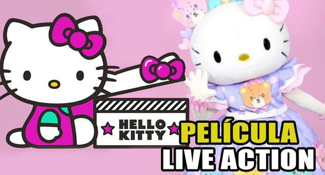 ¡Lo que los fans no estaban esperando! Se confirma la primera película live action de Hello Kitty