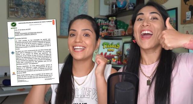 Fátima Sotomayor y Daniela Cabrera recibieron críticas por su último video.