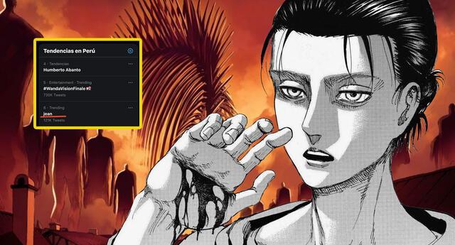Shingeki no Kyojin y su autor se apoderan de las redes en Perú y otro países tras los spoilers del capítulo 138