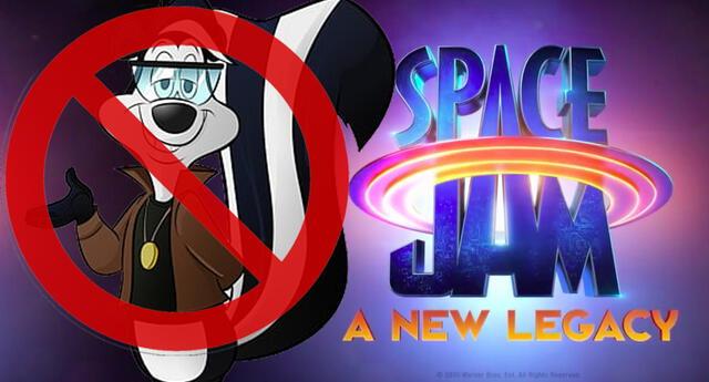 ¡A la banca! Pepe Le Pew no aparecerá en la segunda película de Space Jam