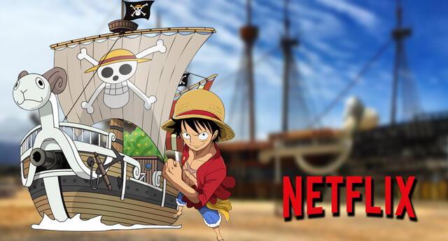 Así lucirá el Going Merry de los Mugiwara en el live-action de One Piece.