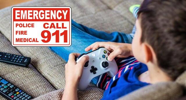 Niño llama al 911 porque su mamá cambió la contraseña del Xbox.