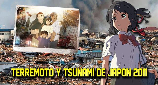 La influencia del terremoto de Tohoku en el mundo del anime.