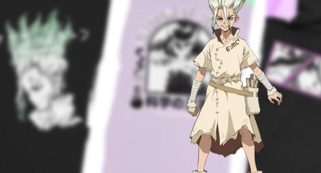 Dr. Stone ya tiene su línea de ropa que te hará parte del Reino de la Ciencia