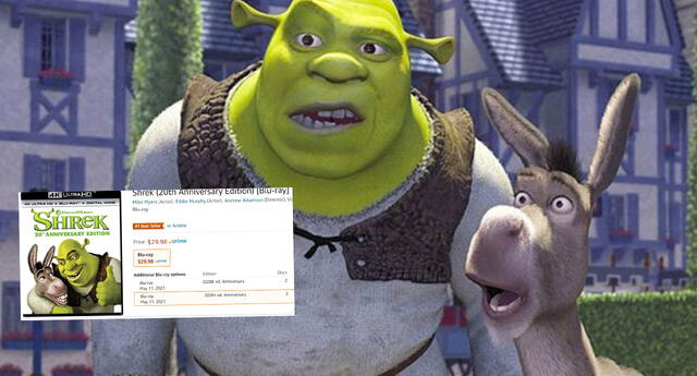 Amazon considera a Shrek como el