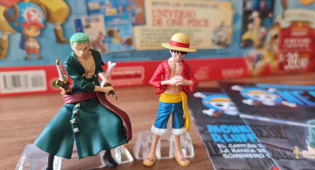 One Piece: estas son las primeras figuras originales que se podrán coleccionar en Perú