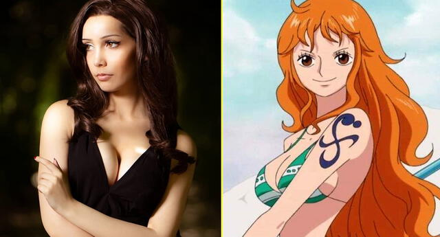 Jovencita se transforma en Nami de One Piece.